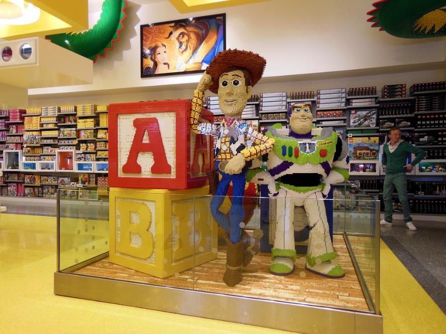 Lego. Retail Design.