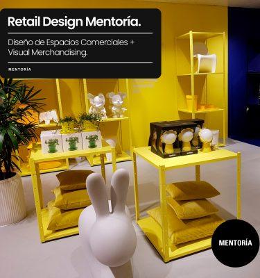Curso Diseño de Espacios Comerciales + Visual Merchandising. Mentoría. Marcela Seggiaro