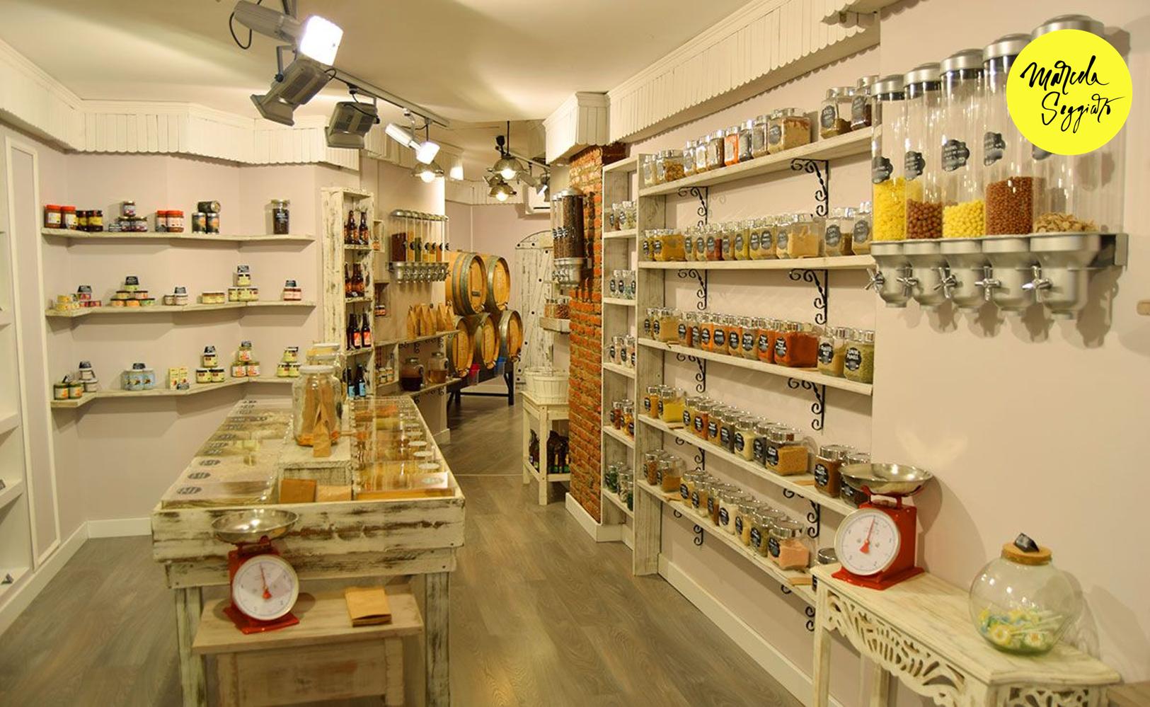 Nuevas Tiendas a granel. Marcela Seggiaro