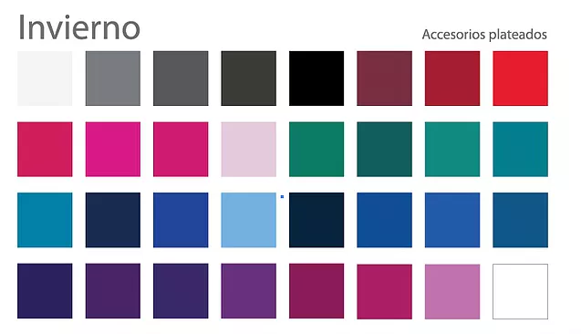 Paleta de colores. Marcela Seggiaro