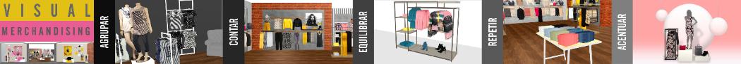 El visual merchandising presenta los productos a los clientes de forma más atractiva para incrementar las ventas