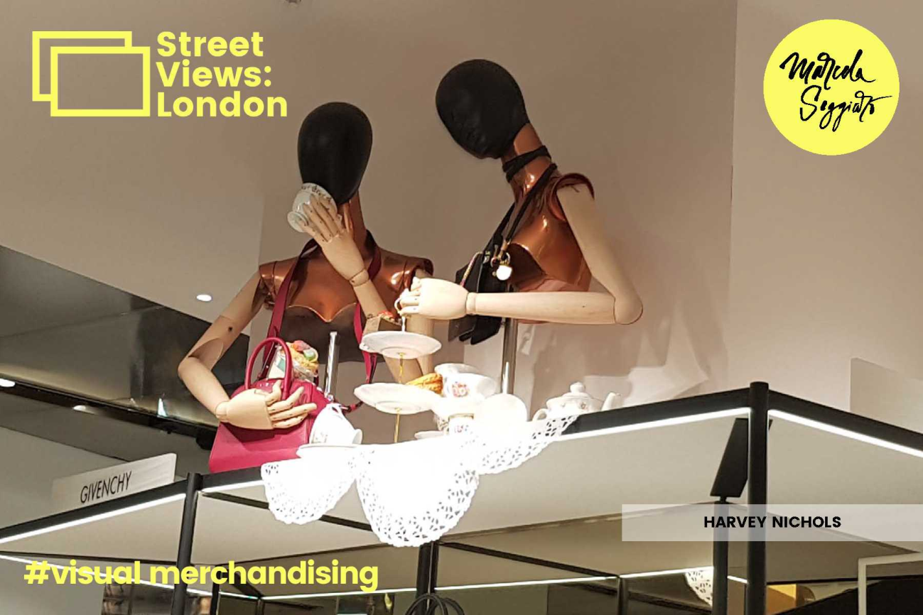 Escaparates Creativos. Harvey Nichols. Londres. Marcela Seggiaro