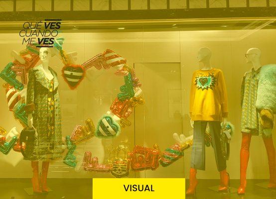 Tipos de Escaparates o vidrieras comerciales. Marcela Seggiaro
