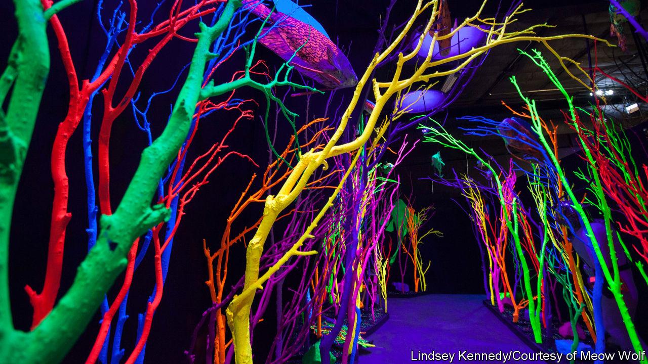 arte inmersivo. tendencias interaccion espacios comerciales