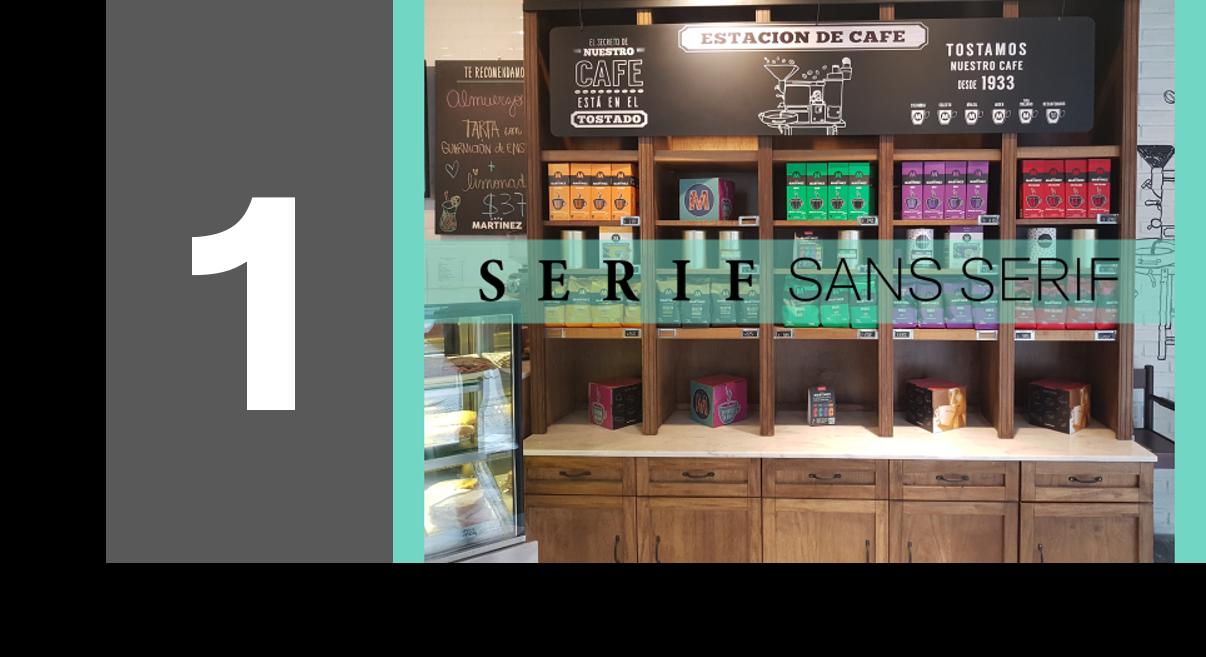 Diseño de Logotipos: 5 Tips ¿Serif o Sans Serif? Marcela Seggiaro